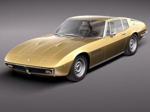 Maserati Ghibli 4900 SS Coupe 1970