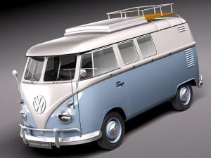 Volkswagen Camper Van 1950