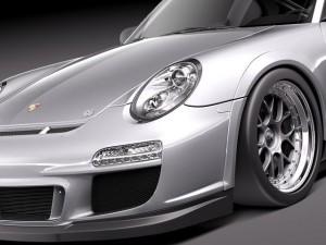 Porsche 911 GT3 Cup racing 2011