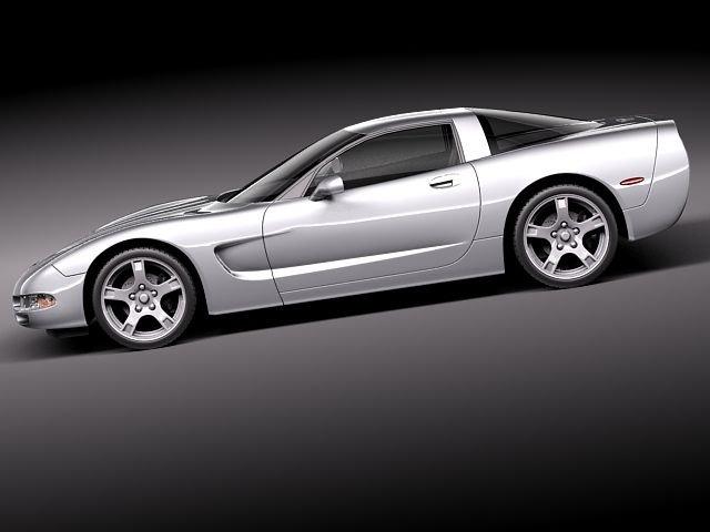 Chevrolet Corvette C5 targa 3D Model