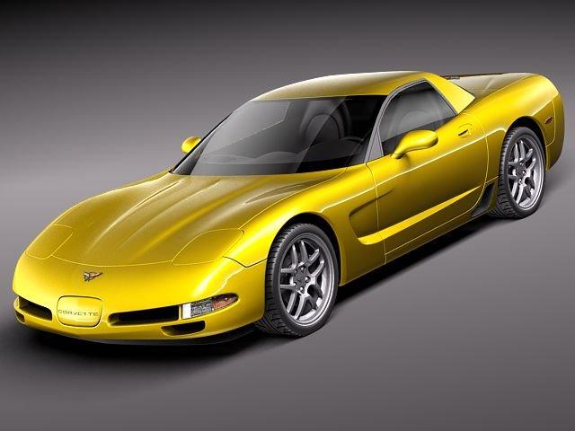 Chevrolet Corvette C5 Z06 3D Model