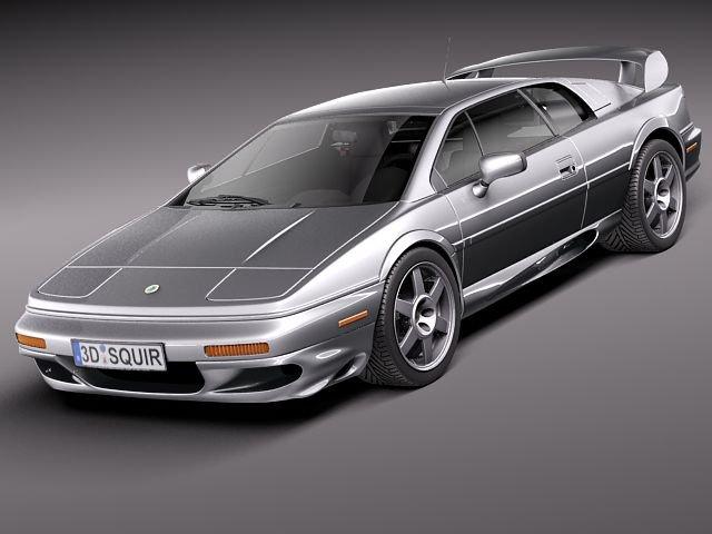 Lotus Esprit V8 2002 3D Model