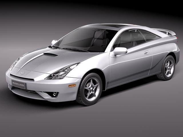 Toyota Celica VII 19992005 3D Model