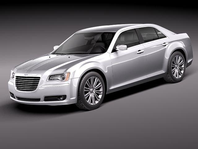Chrysler 300c 2012 3D Model