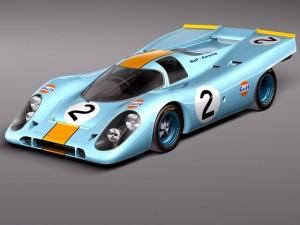 Porsche 917k GULF LeMans 24h