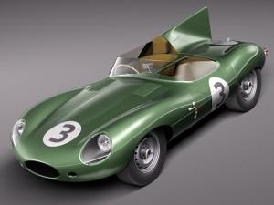 Jaguar DType Longnose 1954
