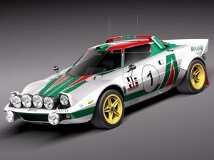 Lancia Stratos HF 1974