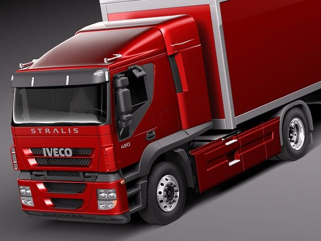 Iveco Stralis 2011 3D Model