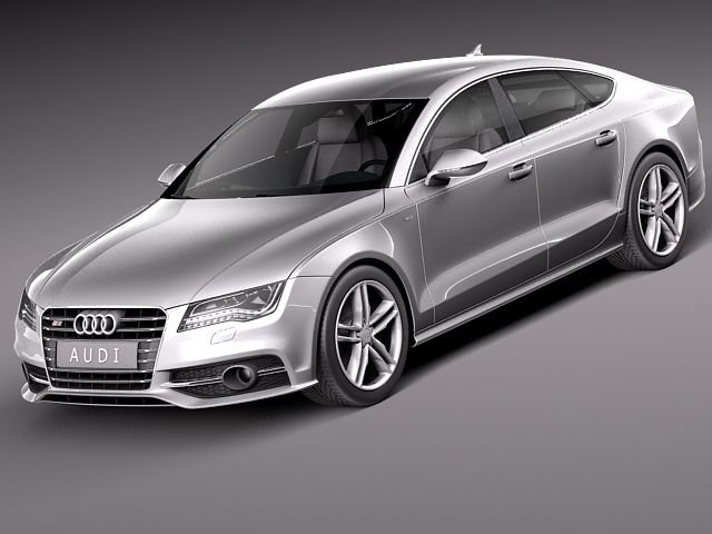 Audi S7 2013 3D Model