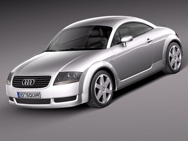 Audi TT coupe 19982005 3D Model