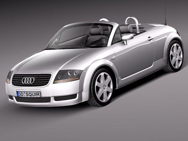 Audi TT roadster 19992005 3D Model