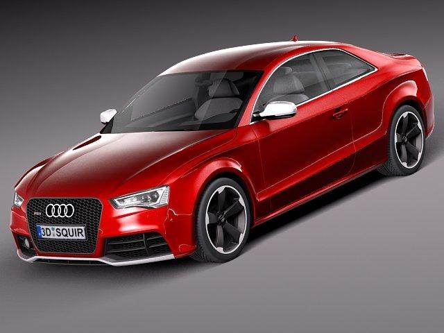 Audi RS5 2012 3D Model