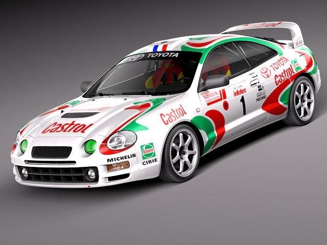 Toyota Celica GTFour Castrol Rally 3D Model