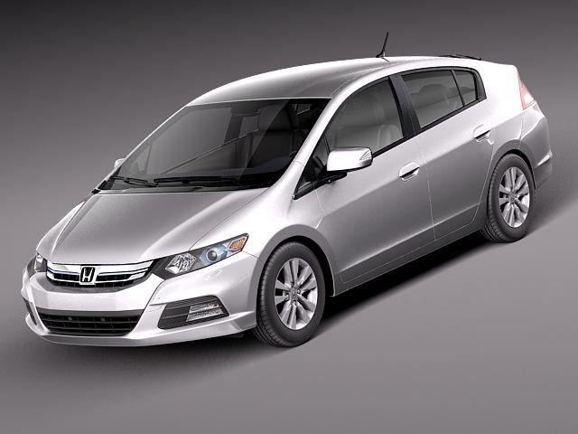 Honda Insight Hybrid 2012 3D Model