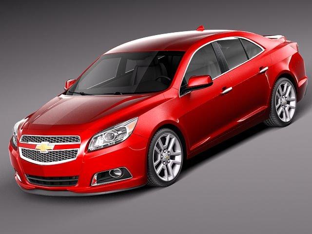 Chevrolet Malibu 2013 3D Model