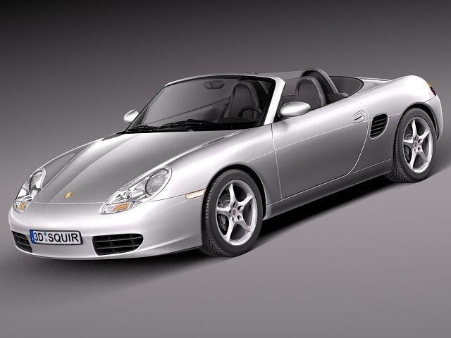 Porsche Boxster S 1996 to 2004 3D Model