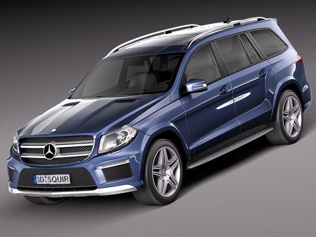 MercedesBenz GLClass 2013 3D Model
