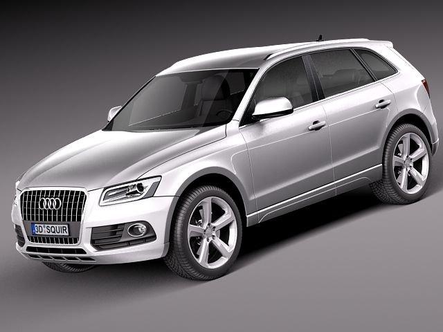 Audi Q5 2013 3D Model