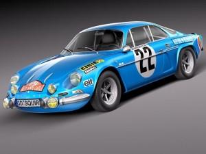 Renault Alpine A110 Rallye 19631974