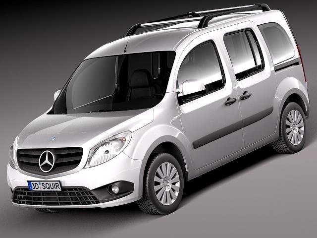 Mercedes Citan 2013 3D Model