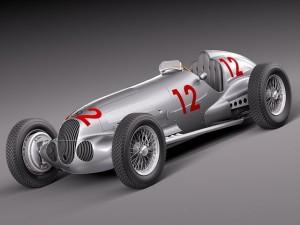 MercedesBenz W125 Grand Prix Race Car