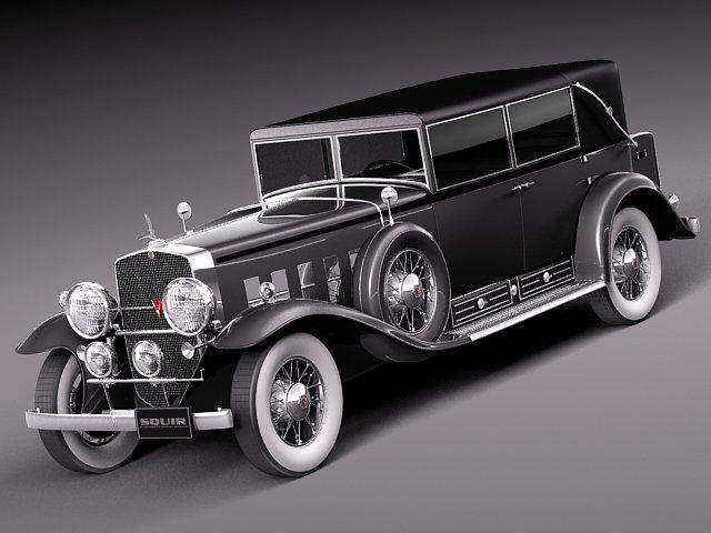 Cadillac V16 Sixteen 1930 Fleetwood Imperial 3D Model