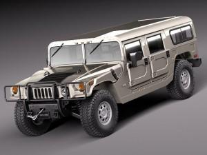 Hummer H1 Wagon civil