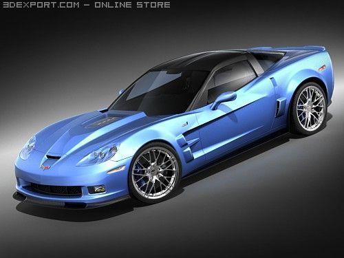 Chevrolet Corvette ZR1 3D Model