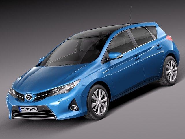 Toyota Auris 2013 3D Model