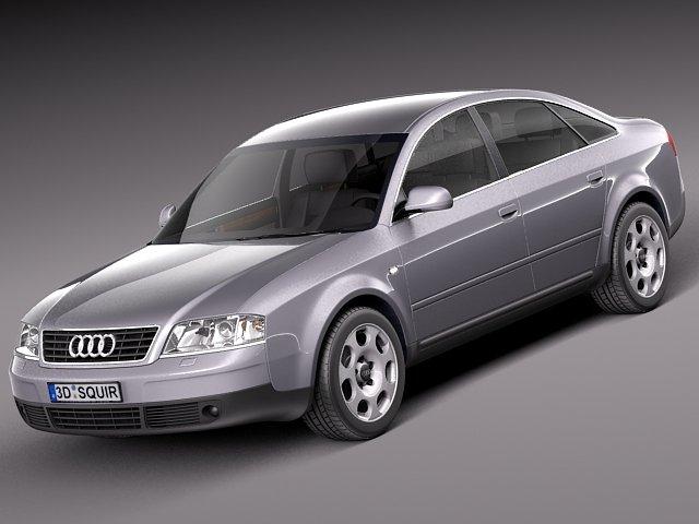 Audi A6 sedan 1997 3D Model