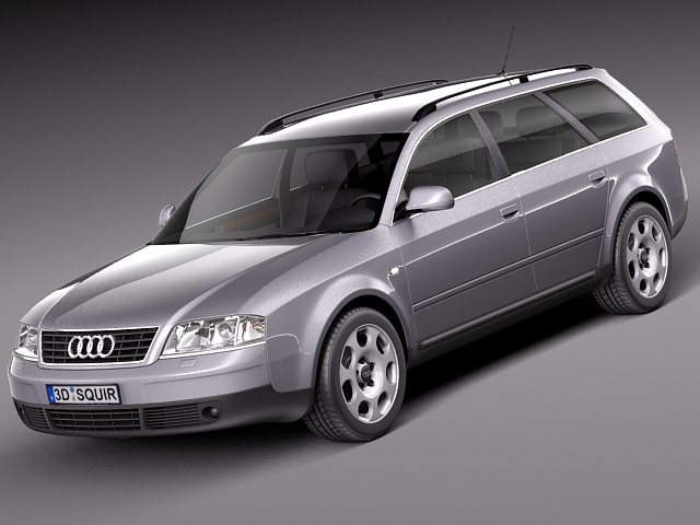 Audi A6 Avant 19972004 3D Model
