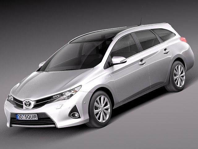 Toyota Auris 2013 Touring Sports 3D Model