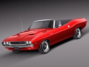 Dodge Challenger 1970 Convertible