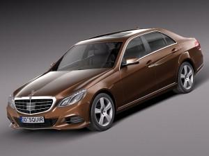 Mercedes EClass sedan 2014