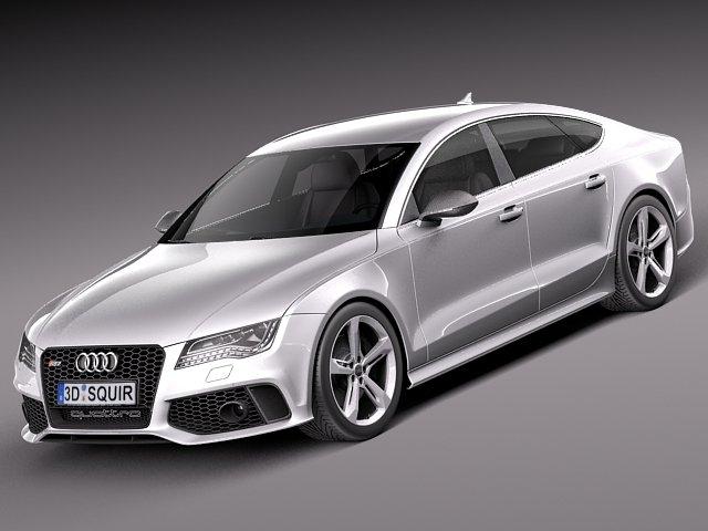 Audi RS7 2014 3D Model