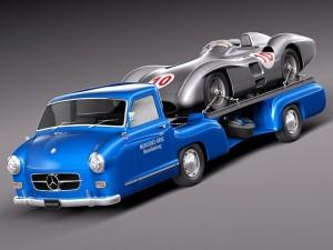 Mercedes  Renntransporter Combo 1954