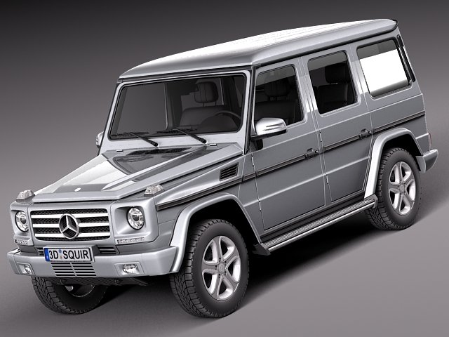 Mercedes Benz G class 2013 3D Model