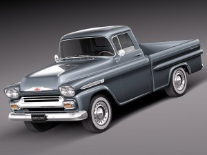 Chevrolet Apache pickup 1958