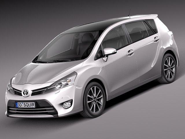 Toyota Corolla Verso 2014 3D Model