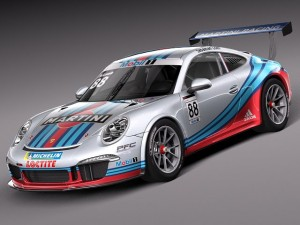 Porsche 911 GT3Cup 2013 Martini