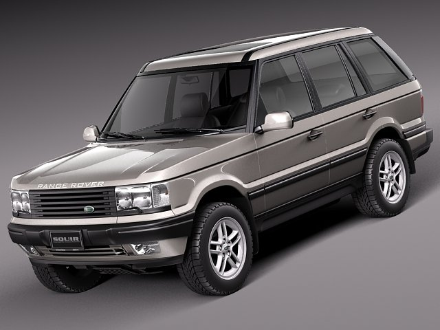 Range Rover II 1994 to 2002 P38A 3D Model
