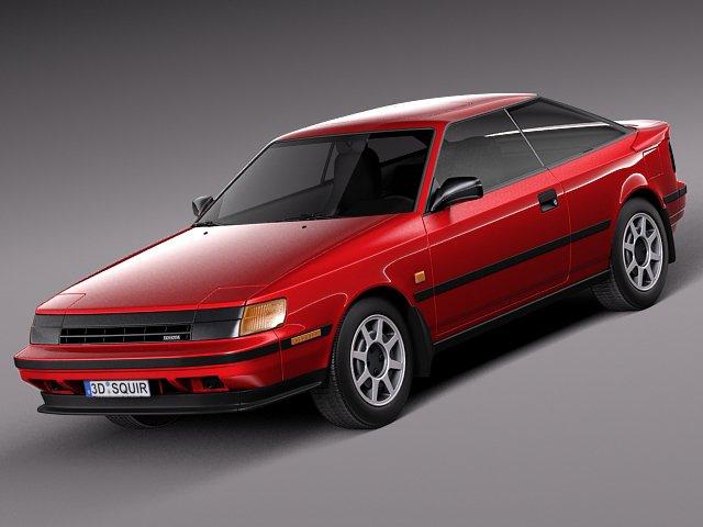 Toyota Celica 1985 to 1989 st165 3D Model