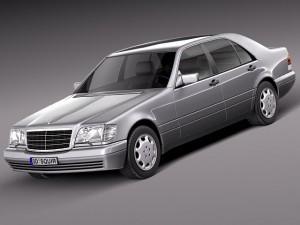 MercedesBenz Sclass W140 1991 to 1998