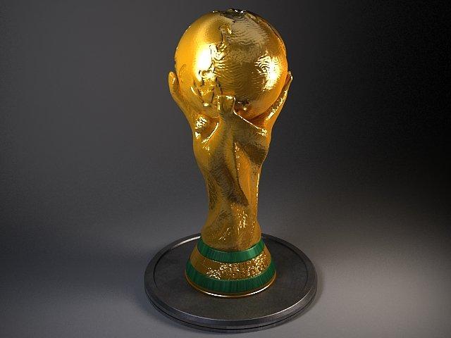 Fifa Cup Trophy 3D Model in Awards 3DExport