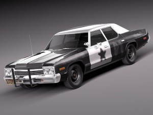 Dodge Monaco 1974 Bluesmobile