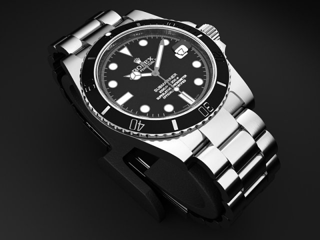 Rolex Submariner 116610 3D Model