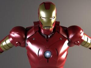 Iron Man Rigged