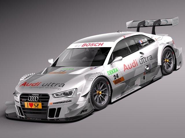Audi A5 DTM 2014 3D Model