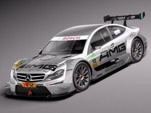 Mercedes C AMG DTM 2012 to 2014