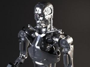 Terminator T800 Rigged